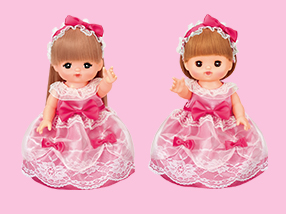 ピンクのおひめさまドレス